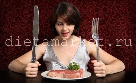 Различные виды диет