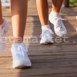 Техника ходьбы для похудения.