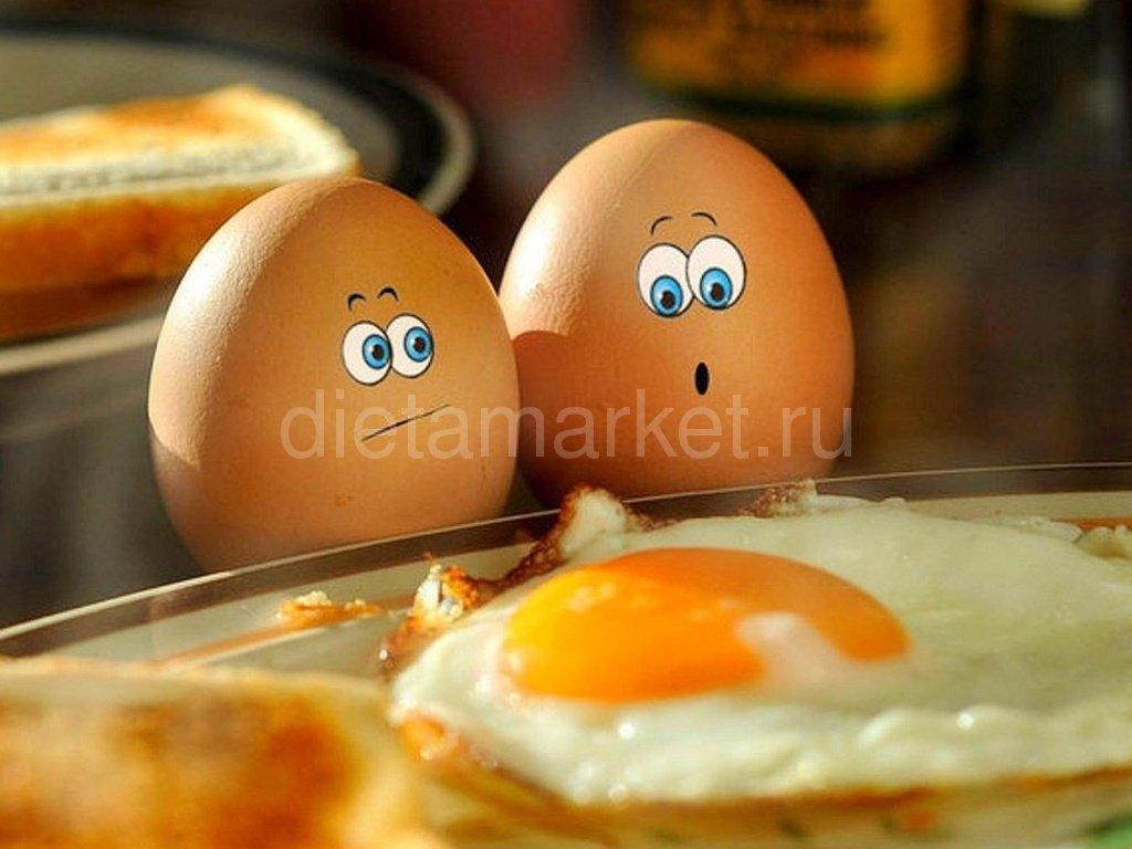 Диета без яиц