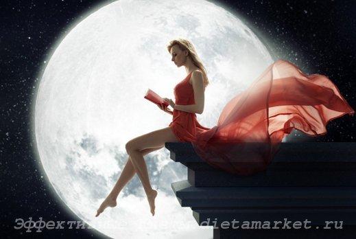 Как похудеть на лунной диете